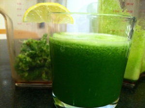 Apple Cucumber Kale Juice